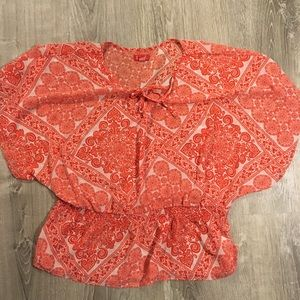 Women's designer blouse, Size XL